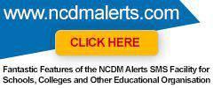 NCDM Alerts
